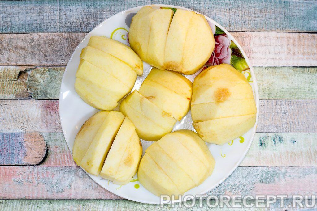 Фото рецепта - Цветаевский пирог с яблоками в мультиварке - шаг 2
