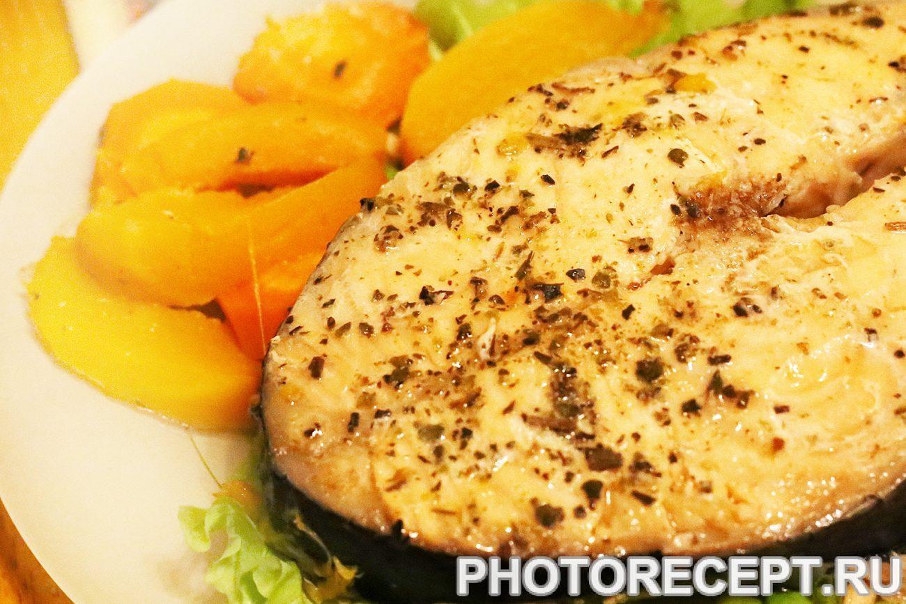 Рыба с овощами в мультиварке пошаговый рецепт с