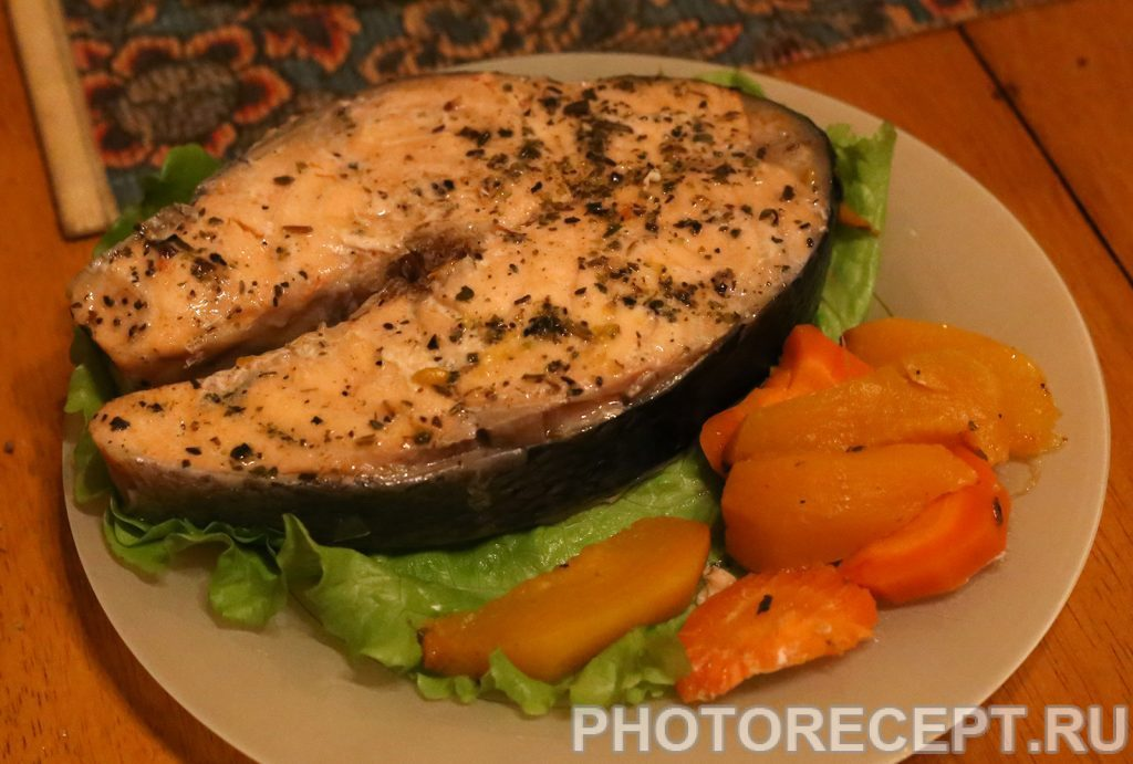 Фото рецепта - Рыба с овощами в мультиварке - шаг 4