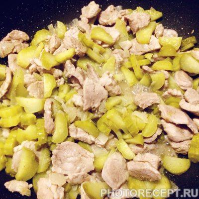 Фото рецепта - Азу из свинины с картошкой - шаг 3
