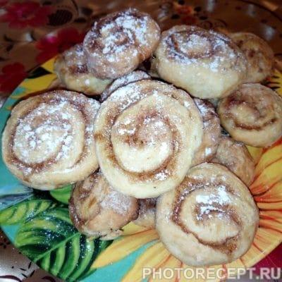 Ароматные булочки с корицей - рецепт с фото