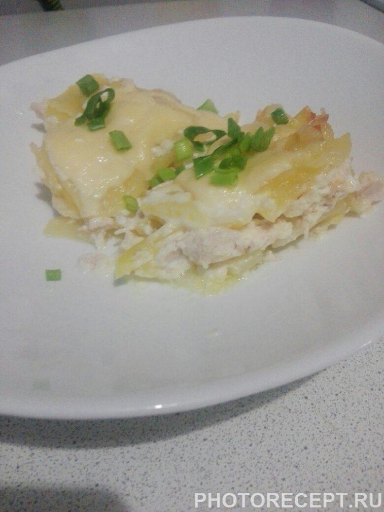Фото рецепта - Картошка по-французски с курицей - шаг 10