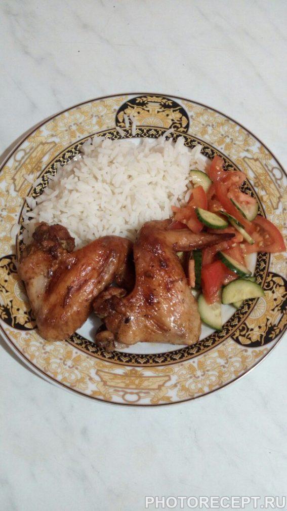 Фото рецепта - Пикантные куриные крылышки - шаг 6