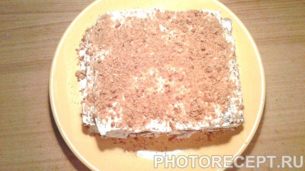 Фото рецепта - Торт «Сметанный медовик» - шаг 7