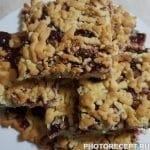 Крамбл — тертый пирог со смородиной