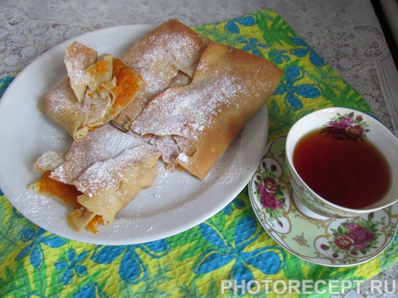 Турта–греческий пирог с тыквенной начинкой
