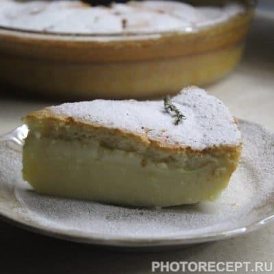 Суфле «Умное пирожное» - рецепт с фото