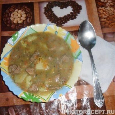 Тушеная картошка с мясом - рецепт с фото