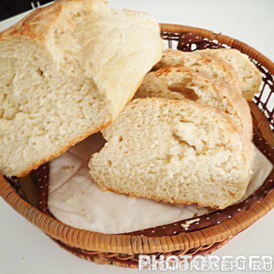 Хлеб из белой муки - рецепт с фото