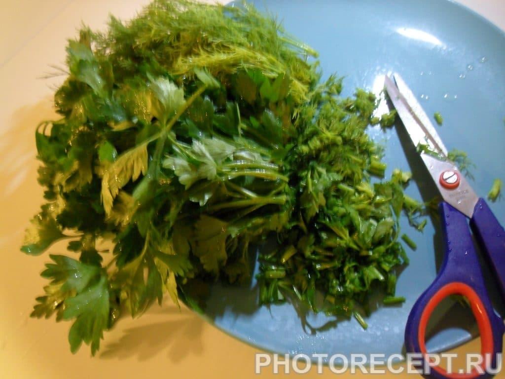 Фото рецепта - Улитки со свежей зеленью - шаг 4