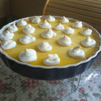 Лимонный тарт - рецепт с фото