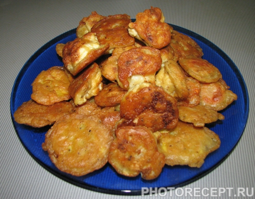 Фото рецепта - Пакоры (овощи в кляре) - шаг 5