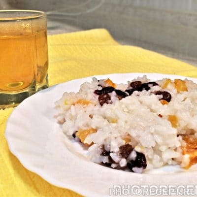 Кутья из риса к Сочельнику - рецепт с фото