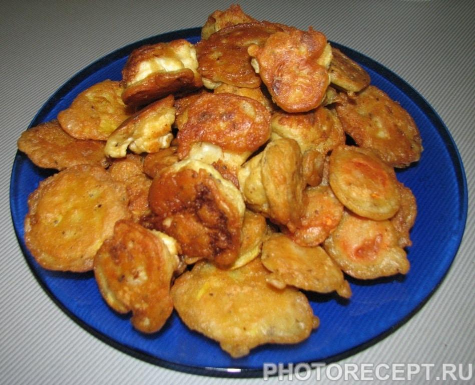 Пакоры (овощи в кляре)