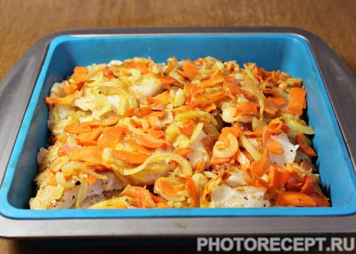 Фото рецепта - Рыба под маринадом из белой фасоли - шаг 5
