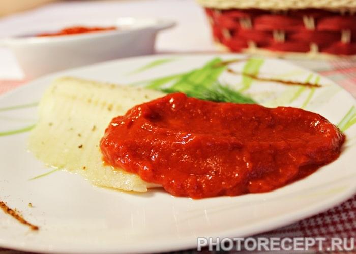 Фото рецепта - Красный соус из болгарских перцев - шаг 7