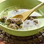 Простой суп-лапша с фрикадельками