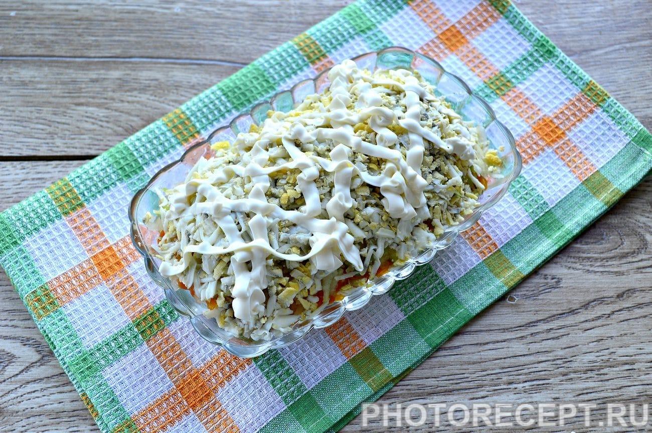 Салат с селедкой и яблоком рецепт