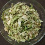 «Шик» — нежный салат с авокадо и сыром Дор-Блю