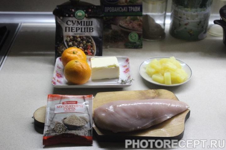 Фото рецепта - Экзотическое куриное рагу - шаг 1