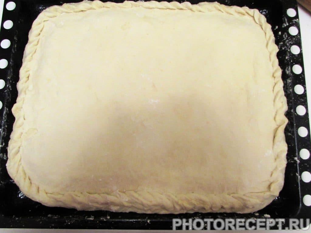 Фото рецепта - Ленивый курник из рубленого мяса и картофеля - шаг 13