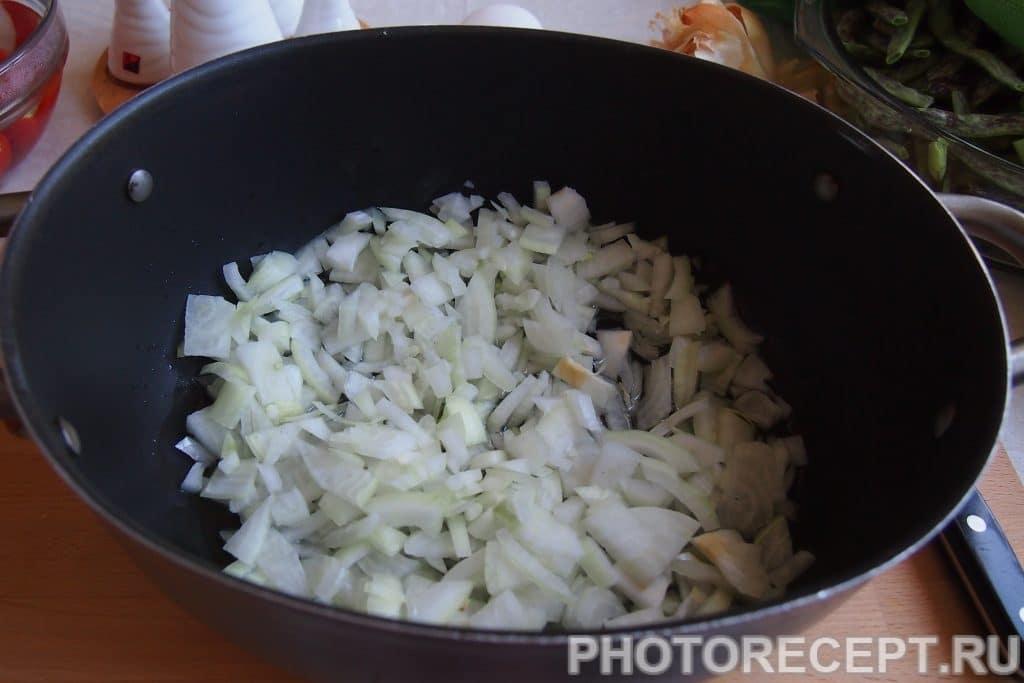 Фото рецепта - Лобио из зеленой фасоли с яйцами - шаг 5