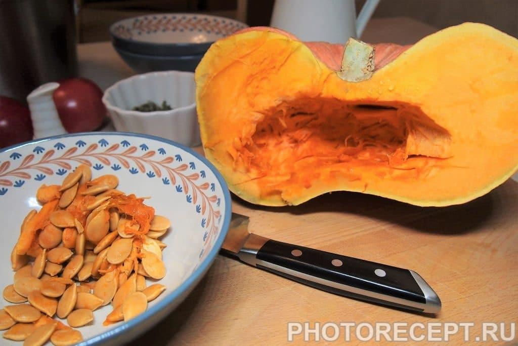 Фото рецепта - Отварная тыква с помидорами - шаг 2