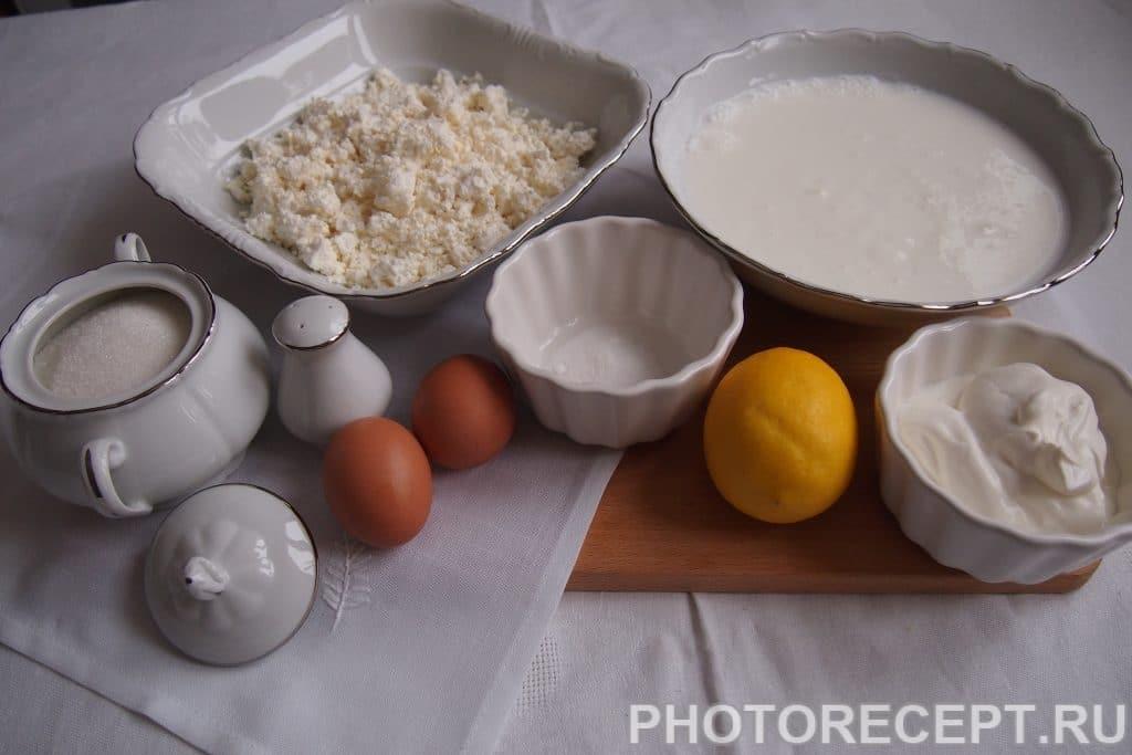 Фото рецепта - Заварные блины со сметаной и творогом - шаг 1