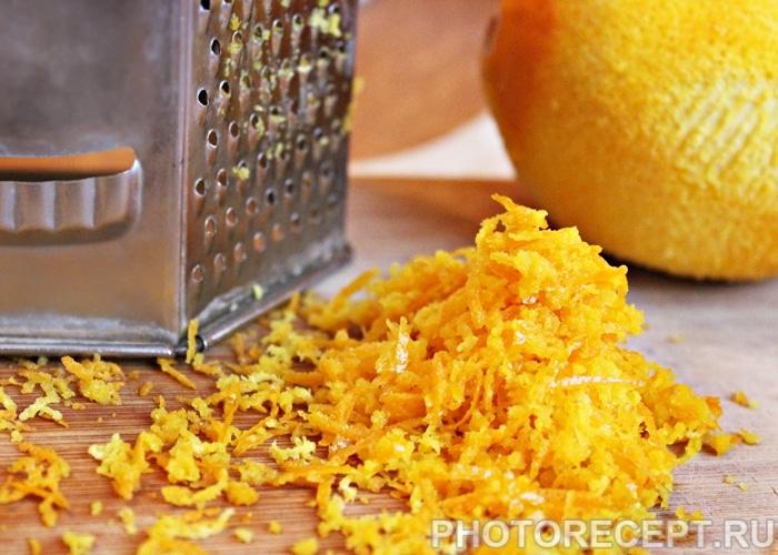 Фото рецепта - Апельсиновые оладьи на дрожжах - шаг 2