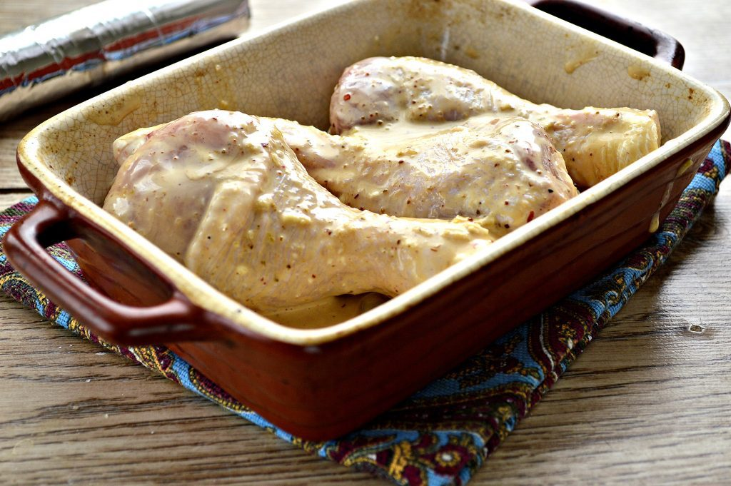 Фото рецепта - Сочные куриные голени в соевом соусе - шаг 5