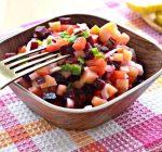 Винегрет с солеными кабачками - рецепт с фото
