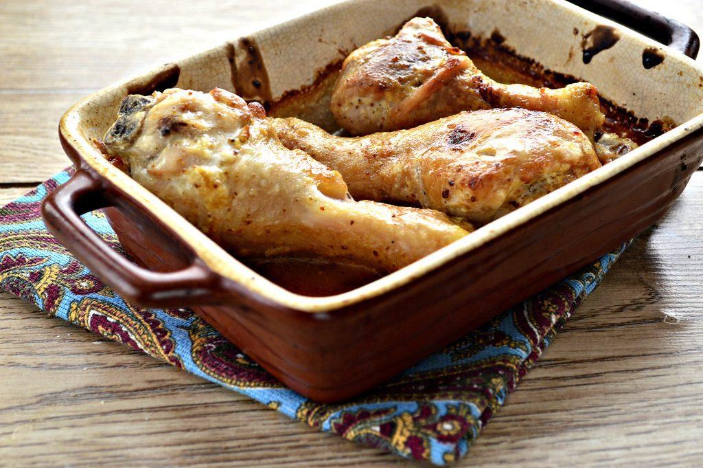 Фото рецепта - Сочные куриные голени в соевом соусе - шаг 6