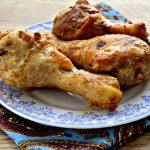 Сочные куриные голени в соевом соусе