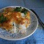 Куриное филе с гречкой, запеченное в духовке