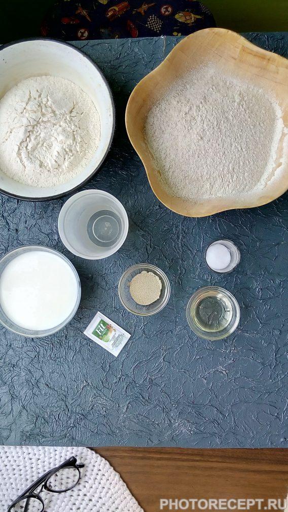 Фото рецепта - Ржаной хлеб на кефире - шаг 1