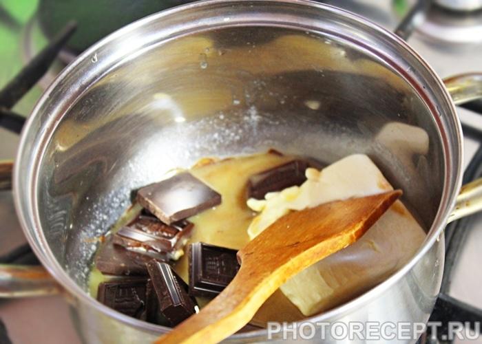 Фото рецепта - Классический рецепт Брауни - шаг 2