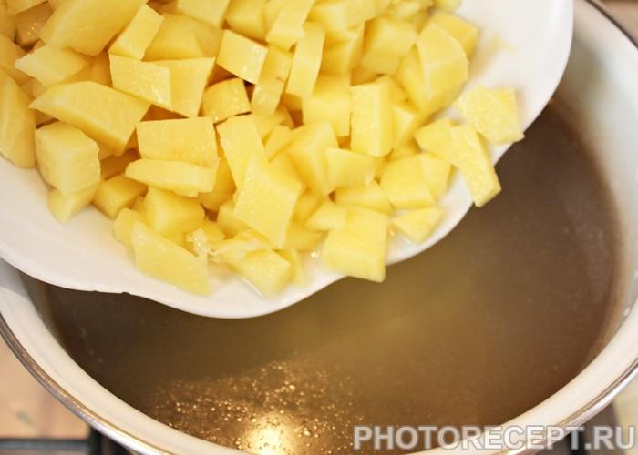 Фото рецепта - Куриный суп с пастой (вермишелью) - шаг 3