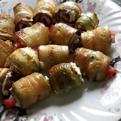 Рулеты из кабачков - рецепт с фото