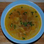 Куриный суп с картофелем и вермишелью