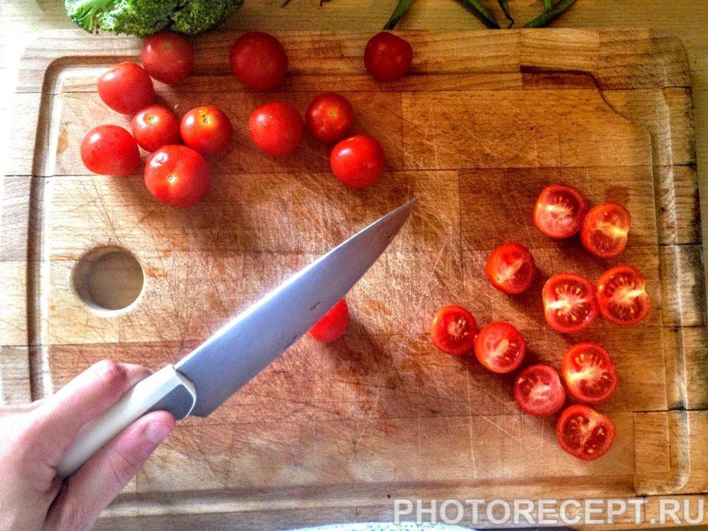 Фото рецепта - Салат из перловки с овощами и сыром - шаг 2