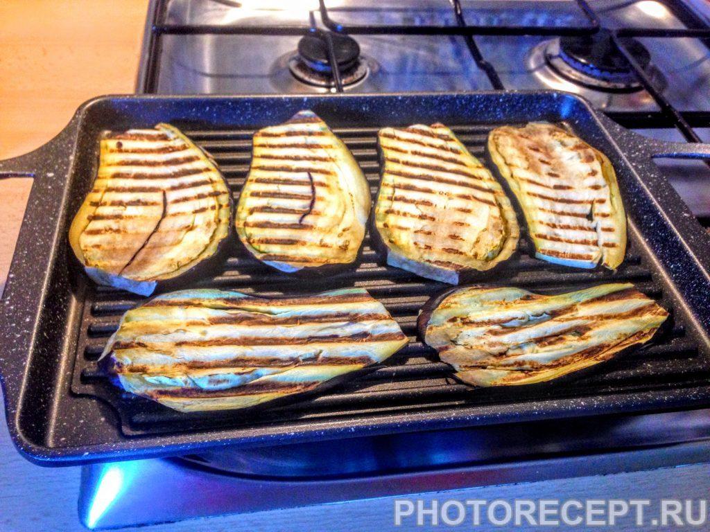 Фото рецепта - Баклажаны с чесноком, на гриле - шаг 3