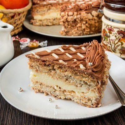 Киевский торт - рецепт с фото