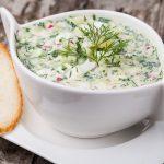 Летний суп – окрошка на кефире
