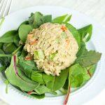 Острый салат с тунцом
