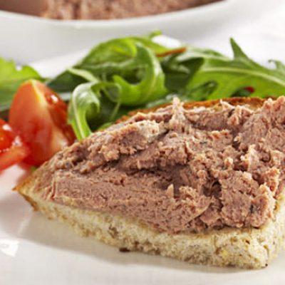 Паштет из свиной печени с салом - рецепт с фото