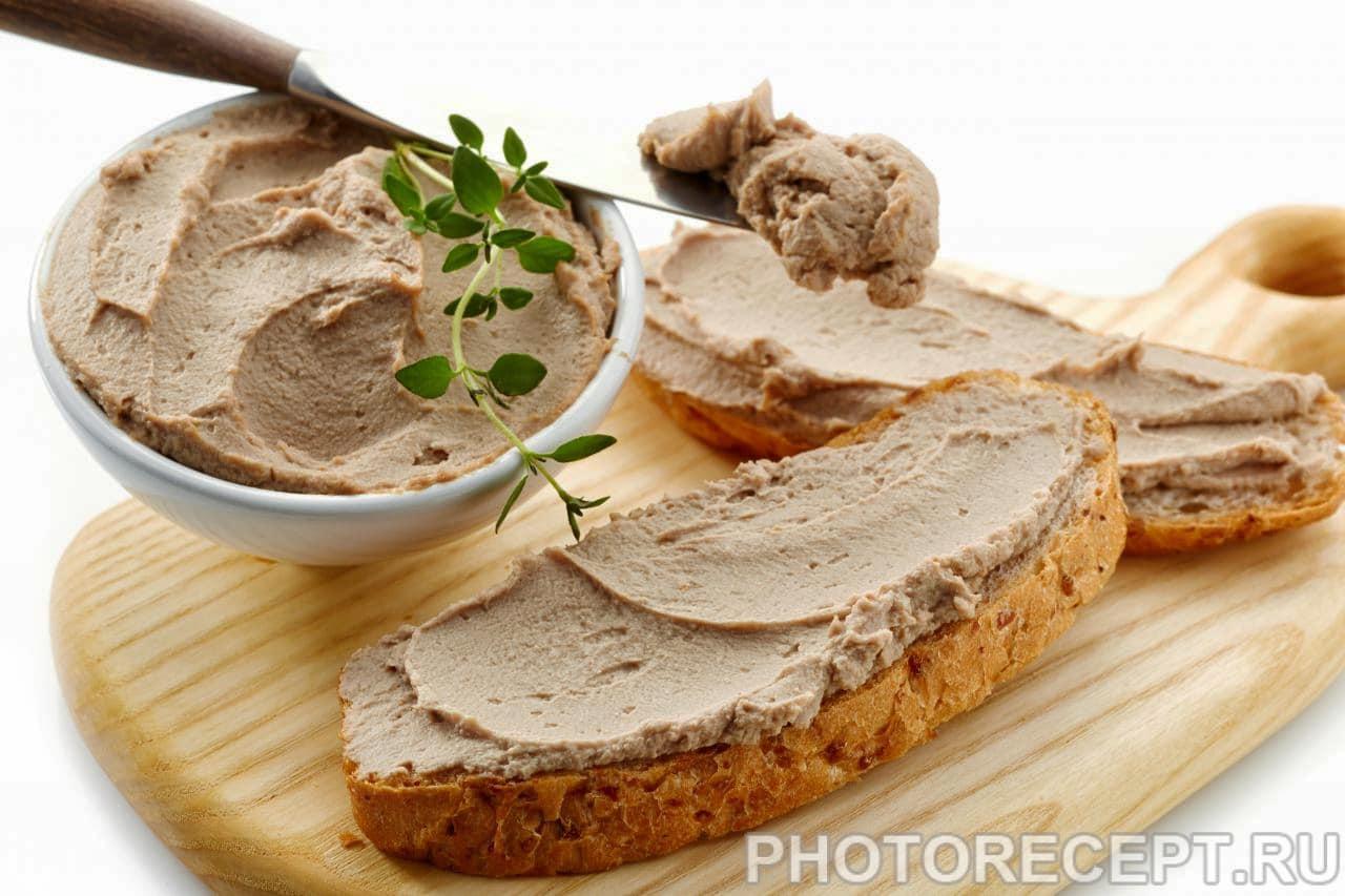 Рецепты печеночного паштета из свиной печени в домашних условиях 87