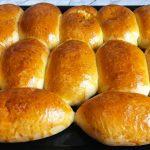 Пирожки с капустой на дрожжевом тесте