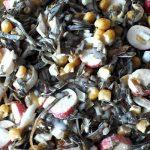 Салат из морской капусты и крабовый палочек