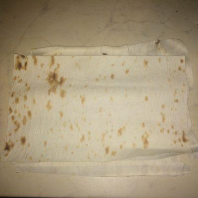 Фото рецепта - Сосиска в лаваше - шаг 1