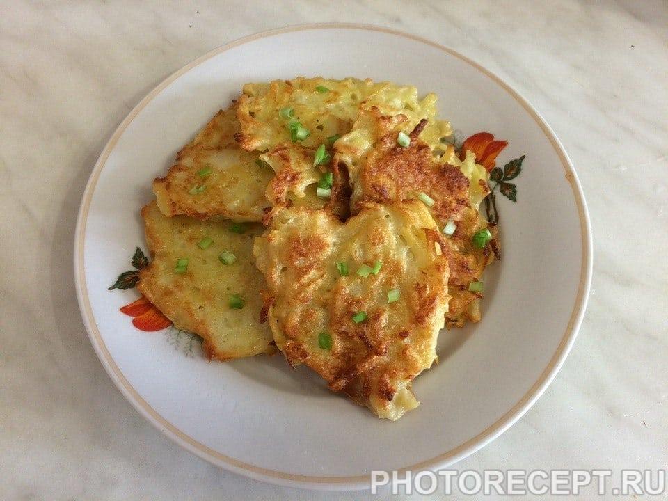 Фото рецепта - Деруны картофельные - шаг 5